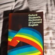 Diccionarios de segunda mano: OXFORD STUDENT'S DICTIONARY OF CURRENT ENGLISH A S HORNBY. Lote 295780923