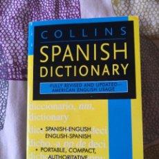 Diccionarios de segunda mano: COLLINS SPANISH DICTIONARY - BILINGÜE. Lote 295781658
