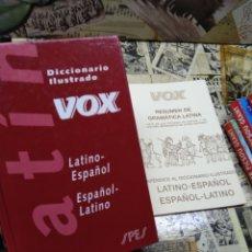 Diccionarios de segunda mano: DICCIONARIO VOX. LATÍN. LATINO. ESPAÑOL. RESUMEN GRAMATICA. Lote 295952943