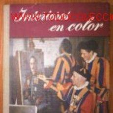 Libros de segunda mano: INTERIORES EN COLOR.FOTOGRAFIA. ILUSTRADO. Lote 2780282