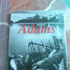 Libros de segunda mano: FOTOGRAFÍA ANSEL ADAMS: PHOTOGRAPHS FROM THE NATIONAL PARK ARCHIVECANNON, BASIL. Lote 21920608
