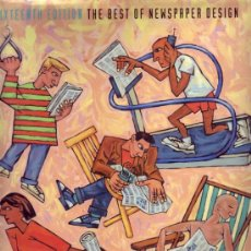 Libros de segunda mano: THE BEST OF NEWSPAPER DESIGN (SIXTEENTH EDITION). C. MARSHALL MATLOCK.. Lote 26629614