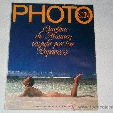 Libros de segunda mano: REVISTA PHOTO - Nº 28 - EDICIÓN ESPAÑA - AÑO 1979 - CAROLINA DE MÓNACO CAZADA POR LOS PAPARAZZI. Lote 27393144