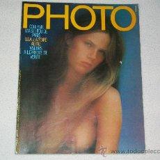 Libros de segunda mano: REVISTA PHOTO - Nº 126 - EDICIÓN FRANCIA - AÑO 1978 - REVISTA DE FOTOGRAFÍA. Lote 27407092