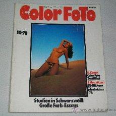 Libros de segunda mano: REVISTA COLOR FOTO - EDICIÓN ALEMANIA - 1976. Lote 27286373