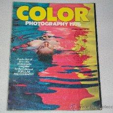Libros de segunda mano: REVISTA DE FOTOGRAFÍA - COLOR PHOTOGRAPHY 1976 - INTERNATIONAL EDITION - EN INGLES. Lote 27407101