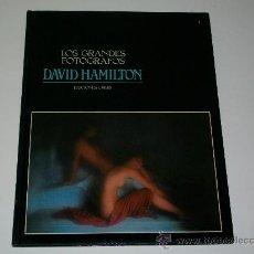Libros de segunda mano: LOS GRANDES FOTÓGRAFOS - N° 1 - DAVID HAMILTON - LIBRO DE FOTOGRAFÍA - ED. ORBIS. Lote 26533927