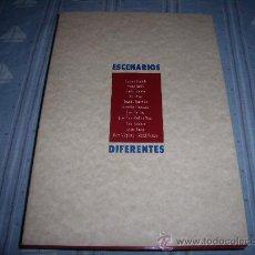 Libros de segunda mano: LIBRO - ESCENARIOS DIFERENTES - ARTE - PINTURA - ESCULTURA, ETC. VARIOS AUTORES (CANARIAS). Lote 20196293
