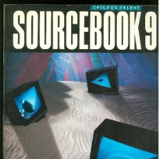 Libros de segunda mano: SOURCEBOOK 9. CHICAGO TALENT. 1989.. Lote 20700010
