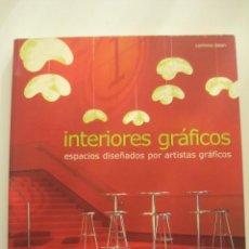 Libros de segunda mano: INTERIORES GRAFICOS CORINNA DEAN GG ESPACIOS DISEÑADOS POR ARTISTAS GRAFICOS. Lote 27249538