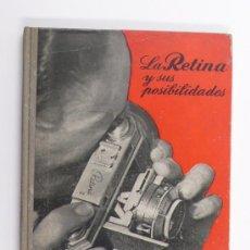 Libros de segunda mano: LA RETINA, Y SUS POSIBILIDADES, W.D. EMANUEL, 1º EDICIÓN. ED. OMEGA. Lote 23731343