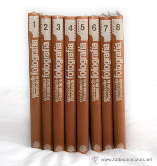 ENCICLOPEDIA PRACTICA DE LA FOTOGRAFIA, 8 TOMOS, ... (Libros de Segunda Mano - Bellas artes, ocio y coleccionismo - Diseño y Fotografía)