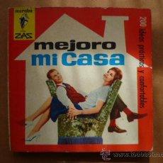 Libros de segunda mano: MEJORO MI CASA - COLECCION MARABU ZAS - BRUGUERA 1964, (VER FOTOS.). Lote 25566160