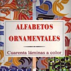 Libros de segunda mano - Alfabetos Ornamentales A Través De Los Tiempos, - 25927422