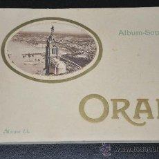 Libros de segunda mano: ALBUM SOUVENIR DE ORAN MARQUE LL LEVY & NEURDEIN REUNIS PARIS. Lote 27999992