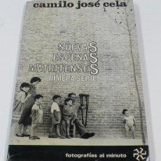 Libros de segunda mano: NUEVAS ESCENAS MATRITENSES, PRIMERA SERIE, 1965. CELA-ONTAÑÓN. 17X21 CM.. Lote 29752453