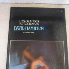 Libros de segunda mano: LOS GRANDES FOTÓGRAFOS--- DAVID HAMILTON---. Lote 29868620