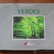 Libros de segunda mano: VERDE LIBRO DE FOTOGRAFIAS DE ASTURIAS EDITADO POR DURO FELGUERA, FOTOGRAFO JOAQUIN FANJUL, . Lote 30014152