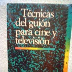 Libros de segunda mano: TECNICAS DEL GUION PARA CINE Y TELEVISION.. Lote 30244165