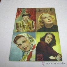 Libros de segunda mano: REVISTA PARA LA MUJER,AÑO 1943. Lote 30339035