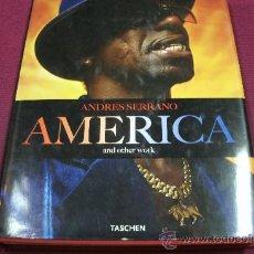 Libros de segunda mano: AMERICA / ANDRES SERRANO - FOTOS - TASCHEN. Lote 30780475