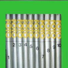 Libros de segunda mano: FOTO GUIA PRACTICA DE FOTOGRAFIA - OBRA COMPLETA EN 10 TOMOS - SALVAT. PRISMA - 1982 - 1ª EDICION . Lote 46895153