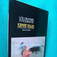 Libros de segunda mano: ERNST HAAS - COLECCION LOS GRANDES FOTOGRAFOS Nº 2 - EDICIONES ORBIS - 1983 - 1ª EDICION. Lote 262857800