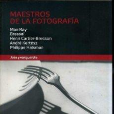 Libros de segunda mano: MAESTROS DE LA FOTOGRAFÍA : ARTE Y VANGUARDIA. Lote 32094803