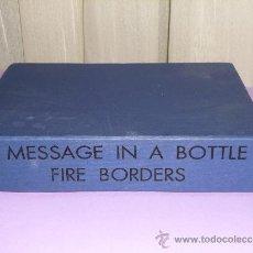 Libros de segunda mano: MESSAGE IN A BOTTLE FIRE BORDER. (LIBRO+ CINTA, TEXTOS EN ESPAÑOL, INGLÉS, GRIEGO). Lote 34264566