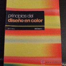 Libros de segunda mano: PRINCIPIOS DEL DISEÑO EN COLOR. WUCLUS WONG.. Lote 35334191