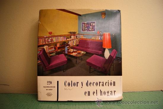 Libro color y decoracion en el hogar vintage comprar for Decoracion hogar segunda mano