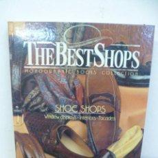 Libros de segunda mano: SHOE SHOPS. THE BEST SHOPS. VOL. 1 BARCELONA, 1990. EDICIONES ATRIUM. . Lote 35561268