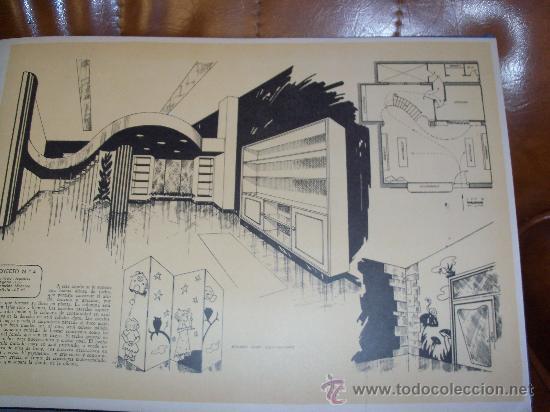 Ceac 50 proyectos interiores de tiendas 1961 d comprar Proyectos de diseno de interiores