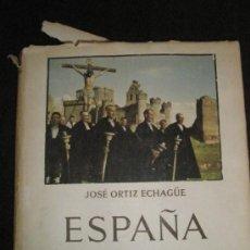 Libros de segunda mano: ORTIZ ECHAGÜE,J.: ESPAÑA MÍSTICA (1954). Lote 36738250