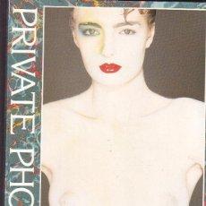 Libros de segunda mano: PRIVATE PHOTOS, LIBRO FOTOGRAFIA EROTICA ( EDICION EN ALEMAN ). Lote 37362108