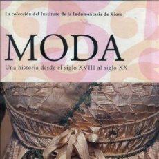 Libros de segunda mano: LA MODA DESDE EL SIGLO XVIII HASTA EL XX - DOS TOMOS GRAN FORMATO (TASCHEN, 2005), . Lote 57420495