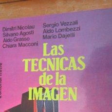 Libros de segunda mano - LAS TÉCNICAS DE LA IMAGEN DE DIMITRI NICOLAU Y OTROS (MITRE) - 37958129