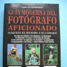 Libros de segunda mano: GUÍA MODERNA DEL FOTOGRÁFO AFICIONADO.. Lote 38061183