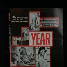 Libros de segunda mano: YEAR 1957 EDITION SEPTEMBER 1956 TO AUGUST 1957 THE ANNUAL PICTURE HISTORY. Lote 38986664
