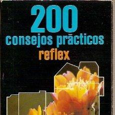Libros de segunda mano: 200 CONSEJOS PRACTICOS REFLEX EMILE VOOGEL PETER KEYZER INSTITUTO PARRAMON EDICIONES 1ª EDIICON 1980. Lote 39637189