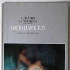 Libros de segunda mano: DAVID HAMILTON COLECCION I GRANDI FOTOGRAFI ORBIS FABBRI. Lote 39740194