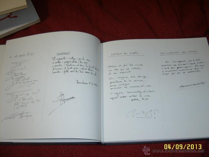 Libros de segunda mano: HOMENATGE EN BLANC I NEGRE.FRANCESC AMENGUAL.1ª EDICIÓ 1996.UNA VERDADERA JOIA!!!.VEURE FOTOS. - Foto 4 - 52492256