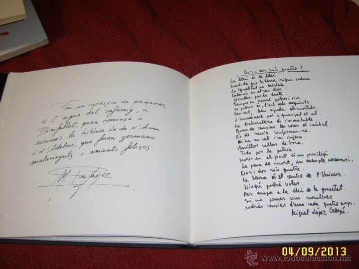 Libros de segunda mano: HOMENATGE EN BLANC I NEGRE.FRANCESC AMENGUAL.1ª EDICIÓ 1996.UNA VERDADERA JOIA!!!.VEURE FOTOS. - Foto 11 - 52492256