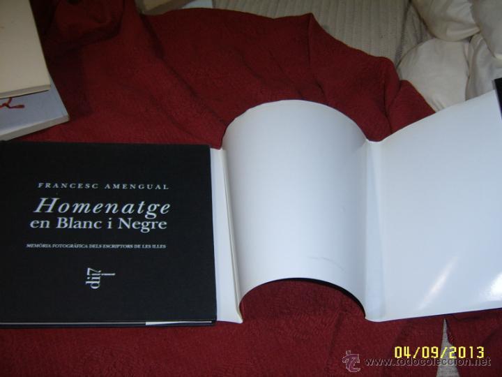 Libros de segunda mano: HOMENATGE EN BLANC I NEGRE.FRANCESC AMENGUAL.1ª EDICIÓ 1996.UNA VERDADERA JOIA!!!.VEURE FOTOS. - Foto 20 - 52492256