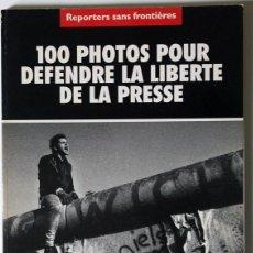Libros de segunda mano: RAYMOND DEPARDON - POR LA LIBERTAD DE PRENSA - REPORTEROS SIN FRONTERAS 1997 DESCATALOGADO. Lote 40329478