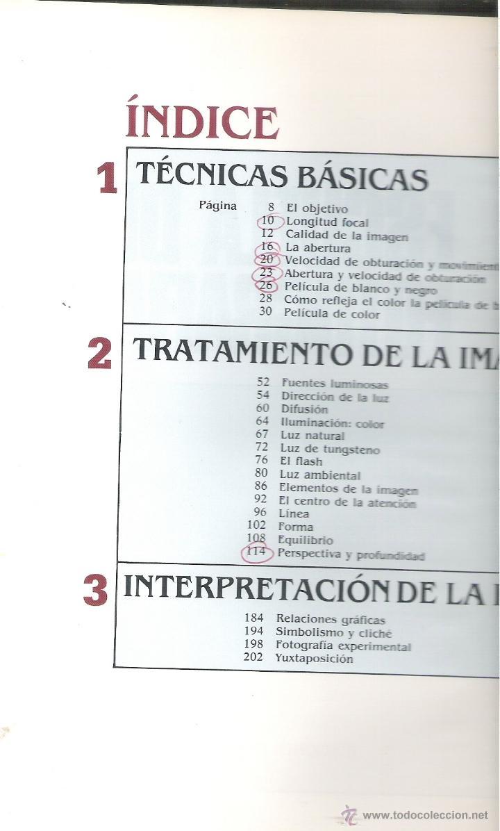Libros de segunda mano: INTERIOR LIBRO - INDICE - Foto 2 - 40737658