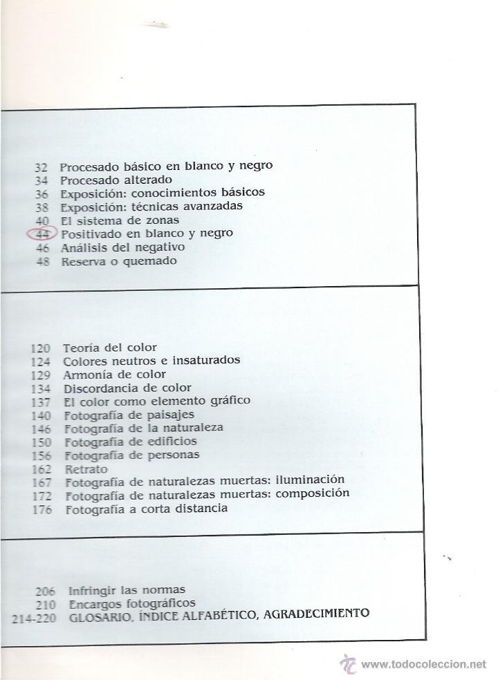 Libros de segunda mano: INTERIOR LIBRO - INDICE - Foto 3 - 40737658