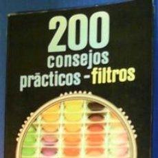 Libros de segunda mano: 200 CONSEJOS PRÁCTICOS, FILTROS, EMILE VOOGEL, PETER KEYZER. Lote 41315981