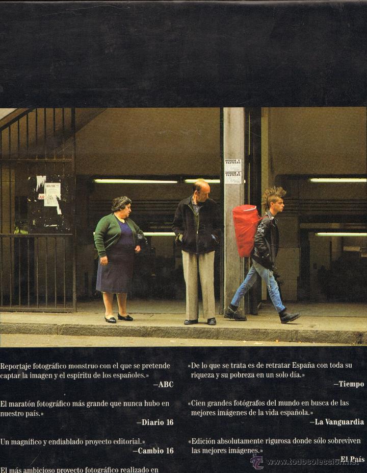 Libros de segunda mano: UN DIA EN LA VIDA DE ESPAÑA - FOTOGRAFIA - Foto 3 - 129982836