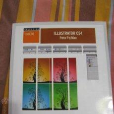 Libros de segunda mano: ILUSTRATOR CS4 +CD. Lote 41621921